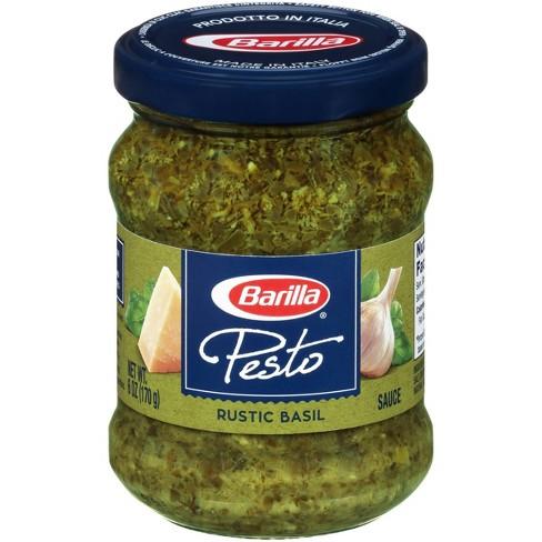 Barilla Rustic Basil Pesto Sauce 6 3oz Target