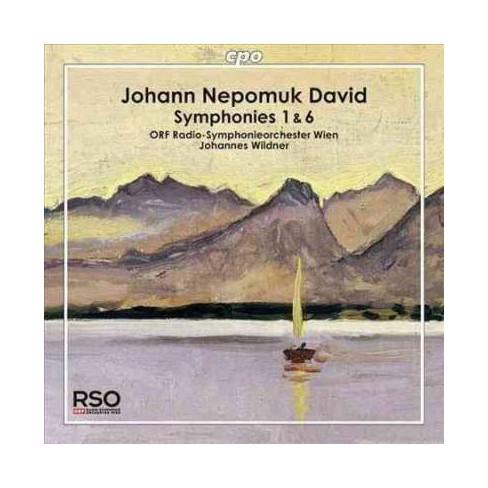 Johann Nepomuk David; Wildner, Johannes - David: Symphonies 1 & 6 (CD) - image 1 of 1