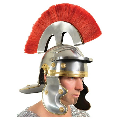 Roman Centurian Armor Steel Helmet - One Size Fits Most - image 1 of 1