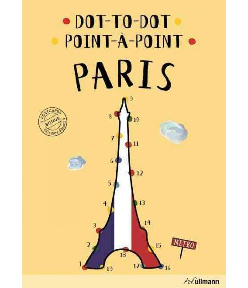 Point-a-Point / Dot-to-Dot Paris (Hardcover) (Agata Mazur) - image 1 of 1