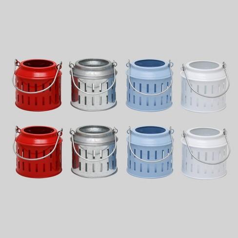 8ct Mini Luminaries Red/Blue/White - Bullseye's Playground™ - image 1 of 1