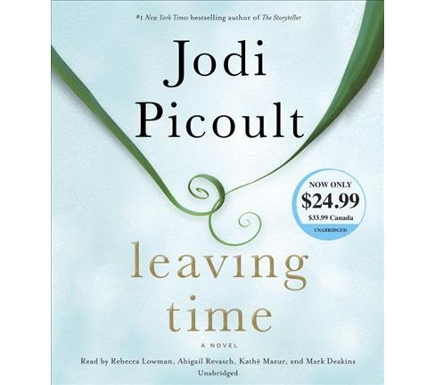 Leaving Time (Unabridged) (CD/Spoken Word) (Jodi Picoult) - image 1 of 1