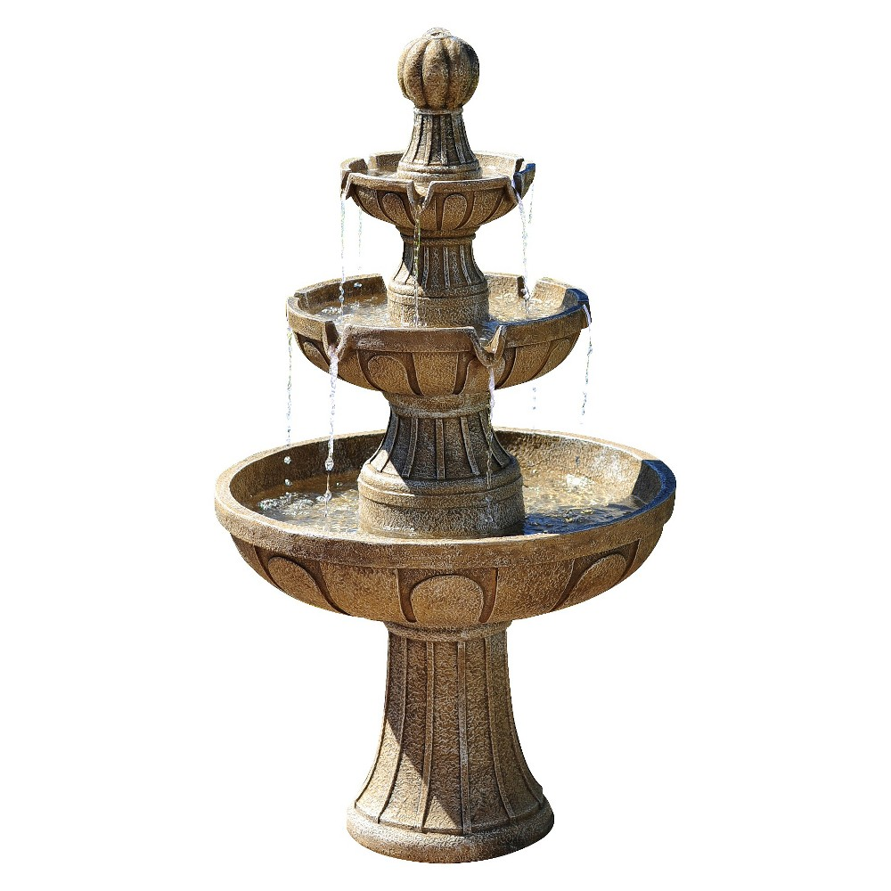 "Image of ""Napa Valley 45"""" Outdoor Water Fountain - Bond"""