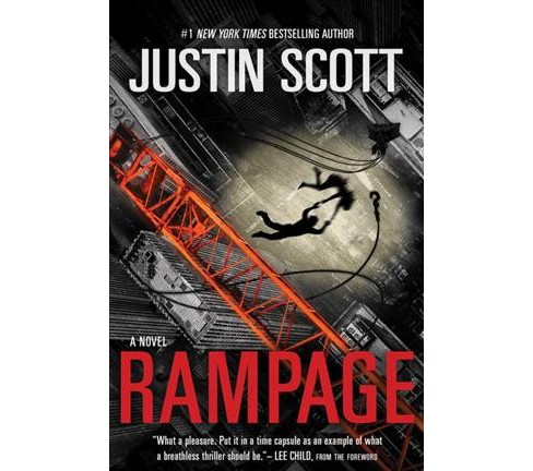Rampage (Hardcover) (Justin Scott) - image 1 of 1