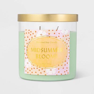 15.1oz Lidded Jar Midsummer Blooms Candle - Opalhouse™