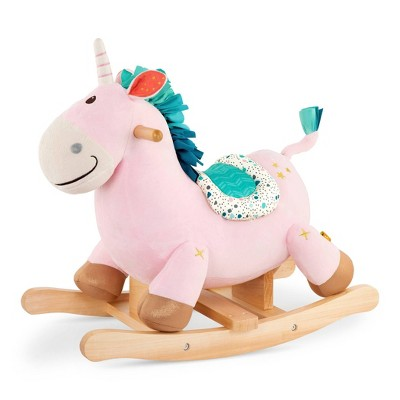B. toys Wooden Unicorn Rocker - Cleo