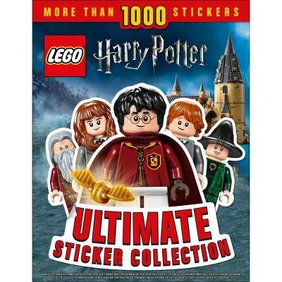 Lego Harry Potter Ultimate Sticker Collection : More Than 1,000 Stickers - (Paperback) - by DK