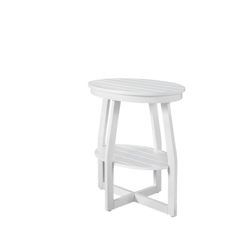 Desmond Accent Table White - Powell Company