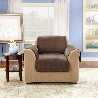 Antimicrobial Quilted Chair Furniture Protector - Sure Fit