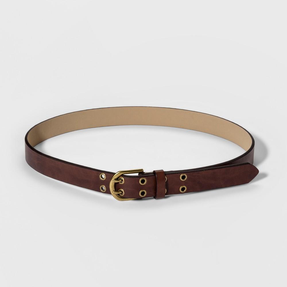 Women S Jean Grommet Belt Universal Thread 8482 Brown L