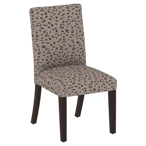 Hendrix Dining Chair in Animal Print - Skyline Furniture - image 1 of 4