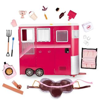 "Our Generation Mane Attraction Horse Trailer for 18"" Dolls"