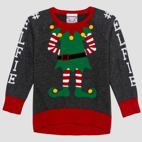 265b36b6f695 Well Worn Toddler Girls' Sweater - Gray : Target
