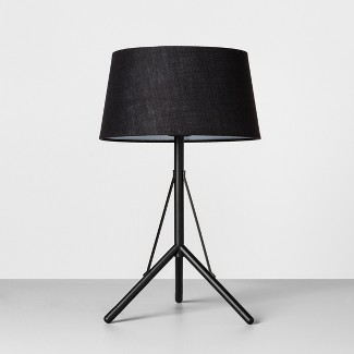 Table Lamp with Shade Black - Hearth & Hand™ with Magnolia