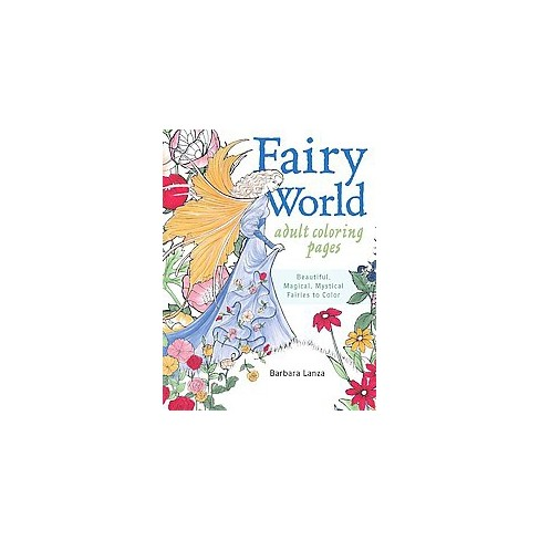 Fairy World Coloring Pages Beautiful Magical Mystical Fairies To