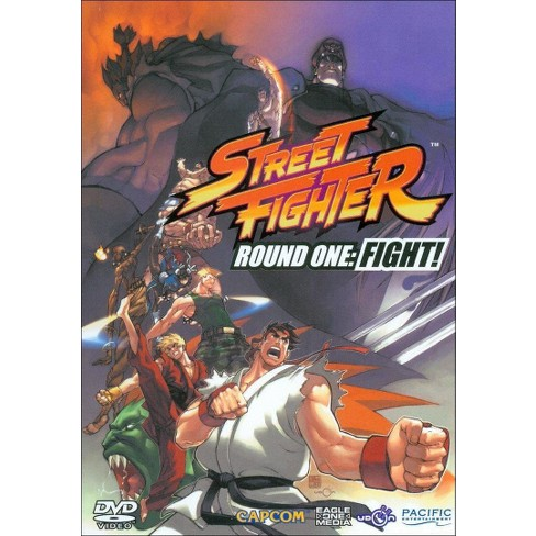 Street Fighter Round One: Fight! (DVD) - image 1 of 1