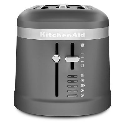 KitchenAid 4 Slice Long Slot Toaster Matte Charcoal Gray - KMT5115DG