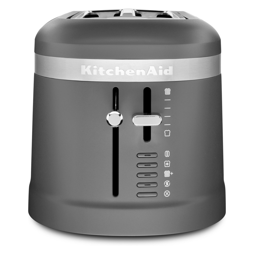 KitchenAid 4 Slice Long Slot Toaster Matte Charcoal Gray – KMT5115DG 53751983