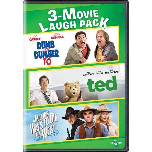 Dumb & Dumber To / Ted / A Million Ways To Die In The West (DVD)