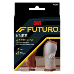 5cdd025a1a FUTURO Comfort Knee Support with Breathable, 4-Way Stretch Material