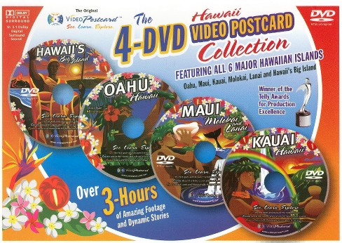 The Hawaii Video Postcard Collection (dvd_video) - image 1 of 1