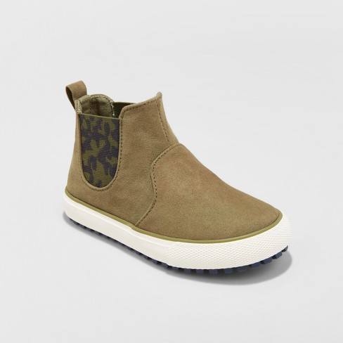 Toddler Boys' Anton Casual Fashion Boots - Cat & Jack™ Olive - image 1 of 3