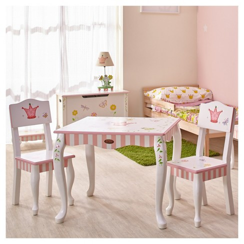 Princess Frog Table Chair Set Of 2 Multi Colored Fantasy Fields Target