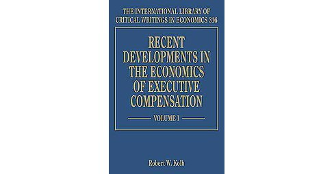 Recent Developments in the Economics of Executive Compensation (Hardcover) - image 1 of 1