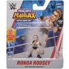 WWE Micro Maniax Ronda Rousey Action Figure Series 1 - image 2 of 2