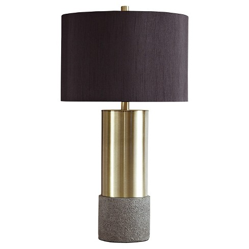 Jacek Table Lamp Set Of 2 Gray Brass Finish Target