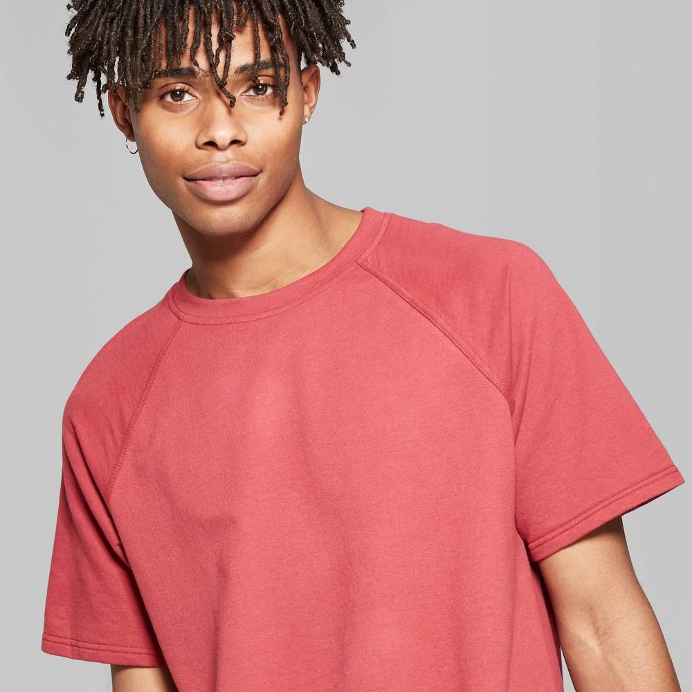 Men's Short Sleeve Raw Edge Raglan T-Shirt - Original Use Radish 2XL