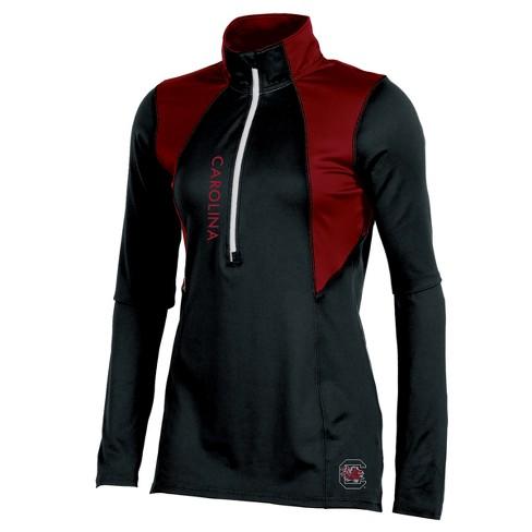 South Carolina Gamecocks Women s Long Sleeve 1 2 Zip Performance Sweatshirt 5593263524