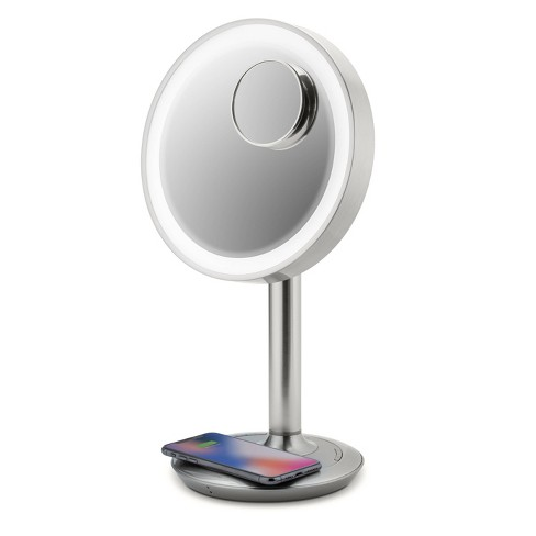 Ihome 9 Lux Power Lighted Led Vanity, Best Lighted Makeup Mirror With Bluetooth