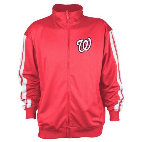 Washington Nationals Men's Zip-Up Track Jacket - XL - image 1 of 2