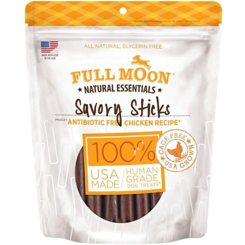 Full Moon Essentials Chicken Sticks Jerky Dog Treats - 16oz - image 1 of 4