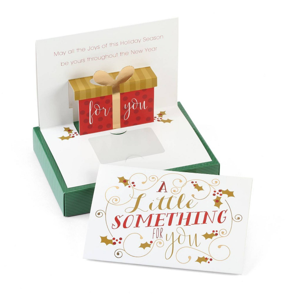 Image of 10ct A Little Something Gift Card Holder Greeting Cards - Masterpiece Studio