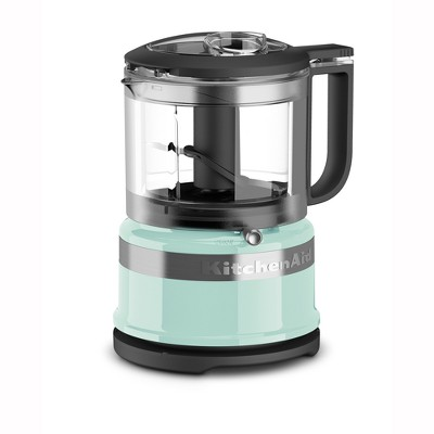 KitchenAid Refurbished 3.5 Cup Mini Food Processor - Blue RKFC3516IC