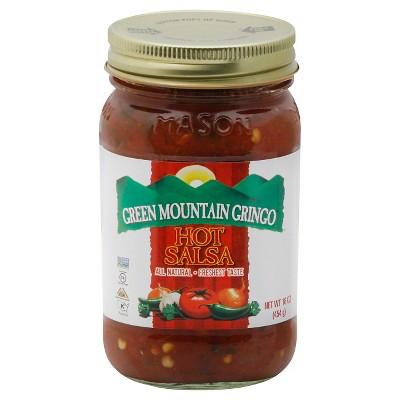 Green Mountain Gringo Hot Salsa 16oz