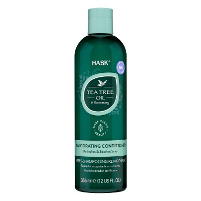 Hask Tea Tree & Rosemary Oil Scalp Care Conditioner - 12 fl oz