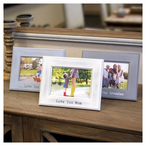 5 X 7 Single Picture Frame Gray