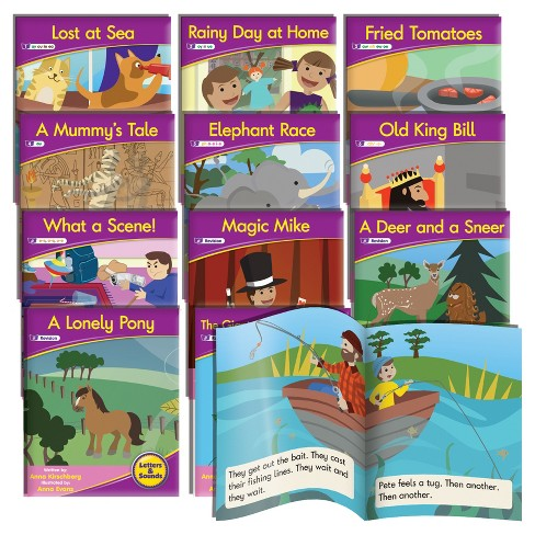Junior Learning® Vowel Sounds Readers - Fiction Learning Set - image 1 of 3