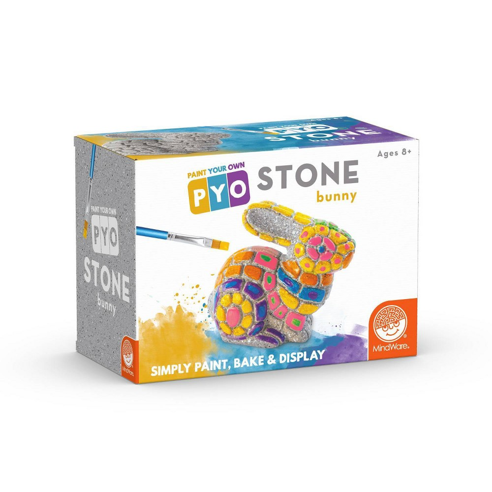 Image of MindWare Paint Your Own Stone Bunny