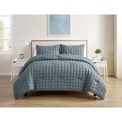 Amelia Seersucker Comforter Set - VCNY