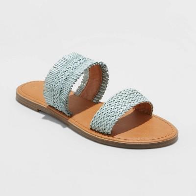 Women's Elizabeth Woven Slide Sandals - Universal Thread™