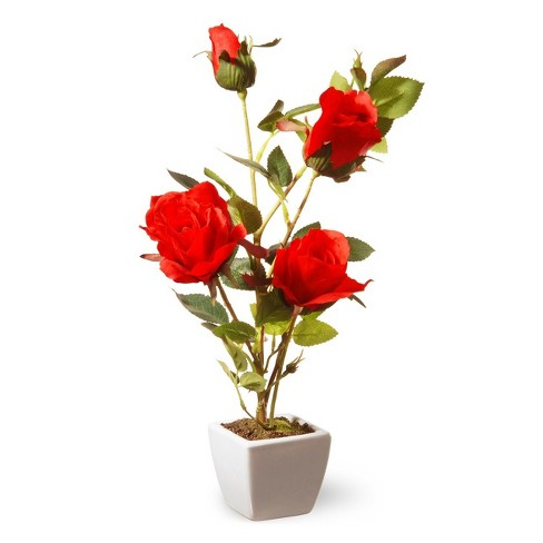 "15"" Red Rose Flower - National Tree Company - image 1 of 2"