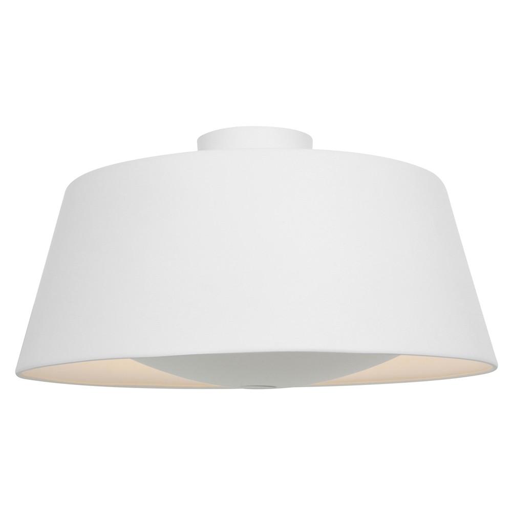 Access Lighting Soho Flush Mount Rice Finish Ceiling Lights White