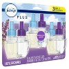 Febreze Plug Air Freshener Plug In Refill, Mediterranean Lavender with Fade Defy Technology - 3ct - image 2 of 4