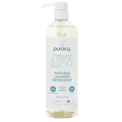 Puracy Fresh Linen Natural Liquid Laundry Detergent - 24 fl oz