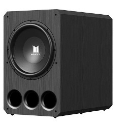 Monolith 15 Inch Powered Subwoofer - Black | THX Select Certified, 1000 Watt Amplifier, 15 Inch Driver For Studio & Home Theater