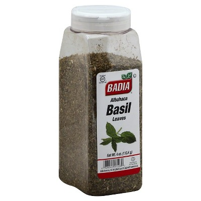 Badia Albahaca Basil Leaves Seasoning 4oz
